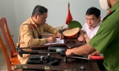 U60 tham gia giao thông với nhiều vũ khí nóng ở Quảng Bình