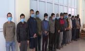 Bắt giữ 16 con bạc say sưa sát phạt nhau dưới hình thức xóc đĩa ở Bắc Ninh