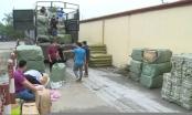 Thái Bình: Phát hiện 30 tấn hàng hóa không rõ nguồn gốc đang trên đường tiêu thụ