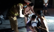 Hành động bất ngờ của CSGT khi phát hiện người phụ nữ bất tỉnh trên đường do tai nạn