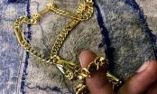 Bắt giữ đối tượng cướp dây chuyền vàng để bán lấy tiền mua ma tuý