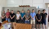 Thanh Hoá: Bắt giữ 9 con bạc đang say sưa sát phạt