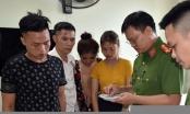 Bắt nhóm 4 nam, nữ thanh niên thuê phòng khách sạn ở Ninh Bình bay lắc ma tuý