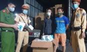 Hà Nội: Phát hiện 20 thùng khẩu trang không rõ nguồn gốc đang trên đường đi tiêu thụ