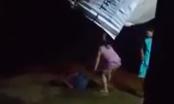 Hà Nội: Nghịch tử cùng mẹ trói chân tay bố giữa sân, dùng dép vả liên tiếp vào mặt