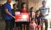 Quảng Ninh: Tặng sổ tiết kiệm cho 4 cháu nhỏ có bố mẹ bị lũ cuốn thiệt mạng