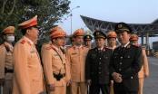 Thứ trưởng Trần Quốc Tỏ kiểm tra công tác bảo đảm ATGT trên tuyến cao tốc Pháp Vân - Cầu Giẽ