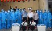 """""""Đội đặc nhiệm"""" Thủ đô lên đường hỗ trợ tỉnh Bắc Giang phòng, chống dịch Covid-19"""