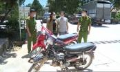 Thanh Hoá: Bắt giữ cặp vợ chồng đi trộm cắp xe máy