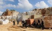 Đại công trường khai thác đá trắng trái phép tại huyện Quỳ Hợp