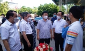 Nghệ An: 60 Chiến sỹ áo trắng  tăng viện tỉnh Bình Dương tham gia phòng chống dịch Covid-19