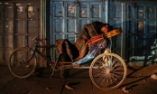 Chùm ảnh: Người vô gia cư tại Ấn Độ chống chọi mùa đông khắc nghiệt