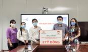 Tập đoàn Hưng Thịnh trao tặng 2 tỷ đồng cho Trung tâm Kiểm soát bệnh tật TP HCM hỗ trợ công tác phòng, chống dịch Covid-19