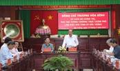 Phó Thủ tướng Trương Hòa Bình làm việc tại tỉnh Sóc Trăng