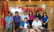 UBND tỉnh Quảng Ninh và Báo Pháp luật Việt Nam ký kết Chương trình hợp tác truyền thông