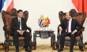 Thủ tướng Nguyễn Xuân Phúc tiếp Chủ tịch Hội đồng Lập pháp Quốc gia Vương quốc Thái Lan