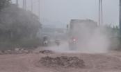 Đường gom QL1 Hà Nội - Bắc Giang xuống cấp: Nhà đầu tư nói do xe quá tải làm hỏng mặt đường