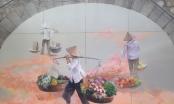 Hà Nội: Những bức bích họa đầu tiên trên phố Phùng Hưng