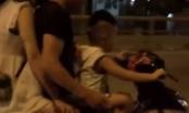 Clip: Hoảng hồn với bé trai lái xe máy chở cha mẹ phóng vun vút trên đường tối mịt