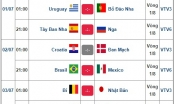 World Cup 2018: 8 cặp đấu tranh tài tại vòng 1/8 gồm những đội tuyển nào