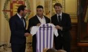Người ngoài hành tinh chính thức sở hữu CLB Real Valladolid