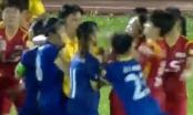 Video: Hỗn chiến giữa các nữ cầu thủ