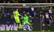 Levante 2-1 Barca: Sai lầm liên tiếp nơi hàng thủ