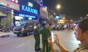 Cận cảnh công an xuyên đêm khám xét quán karaoke của ông vua vàng Phúc XO