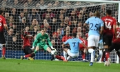 Video trận đấu M.U 0-2 Man City: Giành lại ngôi đầu bảng