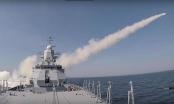 Tàu chiến Nga phóng tên lửa chống hạm, phá tàu chở hàng trong chưa đầy 3 phút