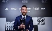 Vượt mặt các đối thủ nặng ký, Messi xuất sắc đoạt danh hiệu The Best