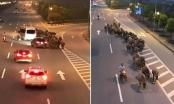 [Clip]: Người đàn ông nghênh ngang dắt đàn trâu đi ngược chiều trên đường cao tốc