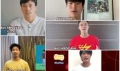 [Clip]: Nhiều ngôi sao bóng đá Việt Nam truyền cảm hứng chống Covid-19
