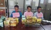 Nghệ An: Bắt quả tang 3 đối tượng vận chuyển 20 bánh heroin, 24 kg ma túy đá và ketamin