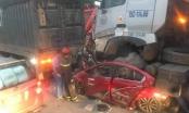 [Clip]: Hiện trường vụ tai nạn thảm khốc khiến 4 người thương vong ở quận Long Biên