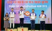 Khởi tranh giải vô địch cờ vua toàn quốc 2020 tranh cup LienVietPostBank
