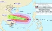 Bão số 9: Sức gió mạnh nhất vùng gần tâm bão mạnh cấp 13-14 giật cấp 17