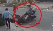 [Clip]: Nam thanh niên hành hung dã man một nữ sinh sau va chạm