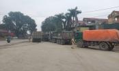 Xe quá khổ, quá tải bùng phát ở ngoại thành Hà Nội dịp đầu năm