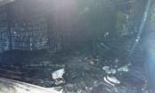 Chợ Tân Thành cháy lớn ngày cuối năm, hàng hóa bị thiêu rụi thành than