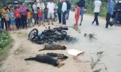 Danh tính hai người bị đánh thương vong, đốt xe máy vì nghi câu trộm chó