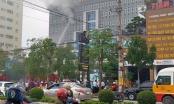 Cận cảnh hiện trường vụ cháy tại khách sạn Vinh Plaza