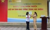 Hà Nội: Cảnh sát Giao thông tuyên truyền Luật an toàn giao thông tại trường học