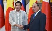 Thủ tướng Nguyễn Xuân Phúc tiếp đón Tổng thống Philippines