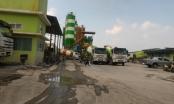 """Hoài Đức, Hà Nội: Hàng loạt trạm trộn bê tông không phép """"hành"""" dân"""