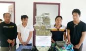 """Nghệ An: Bắt 4 đối tượng vượt biên """"cõng"""" 69 bánh heroin về Việt Nam tiêu thụ"""