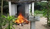 Người đàn ông chết cháy bất thường trong nhà chị ruột