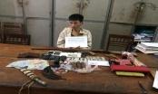 Nghệ An: Tự chế súng đạn, mìn để buôn ma túy