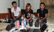"""Hà Tĩnh: Bắt quả tang 3 thanh niên """"đập đá"""" trong khách sạn"""