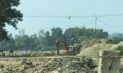 """Thái Nguyên: Lợi dụng đề án """"cải tạo thao trường"""" để khai thác cát, sỏi trái phép?"""